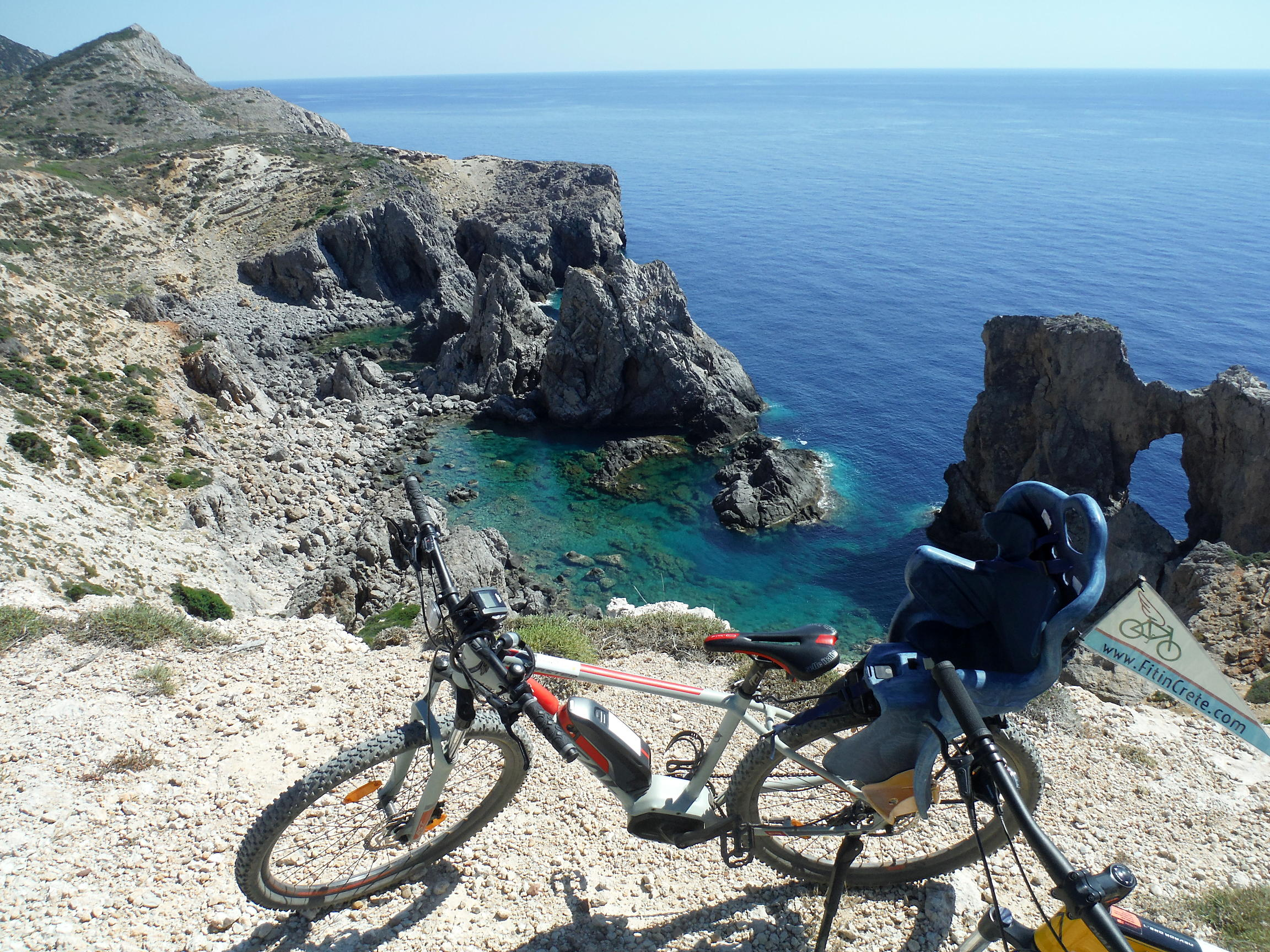 E-bikes land on Antikythera