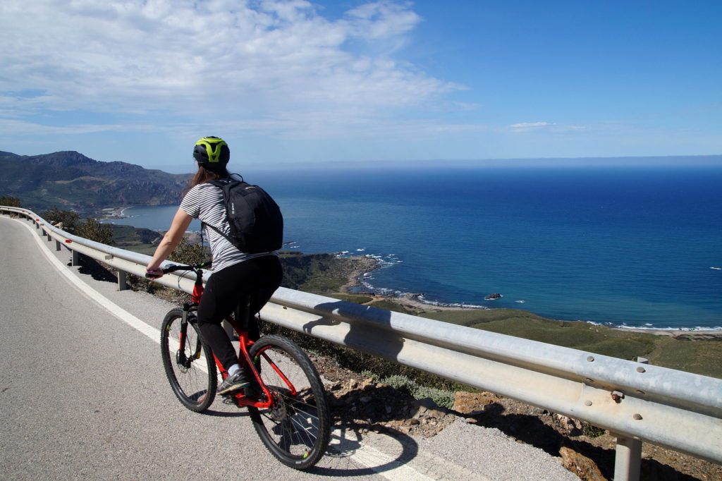 E-bike to Sfinari