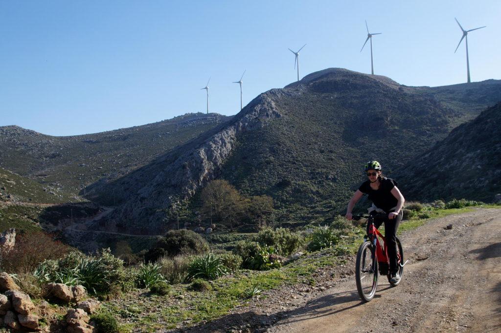 E-bike Manna Mountain in Kissamos