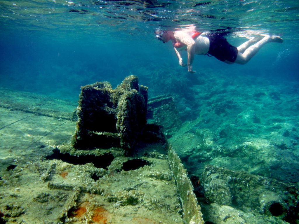Snorkel over the Shipwreck