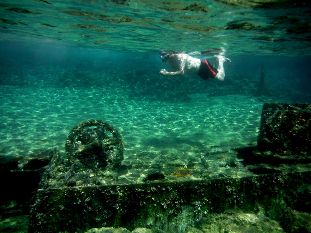 Snorkel by the WWII Shipwreck near ancient Phalasarna