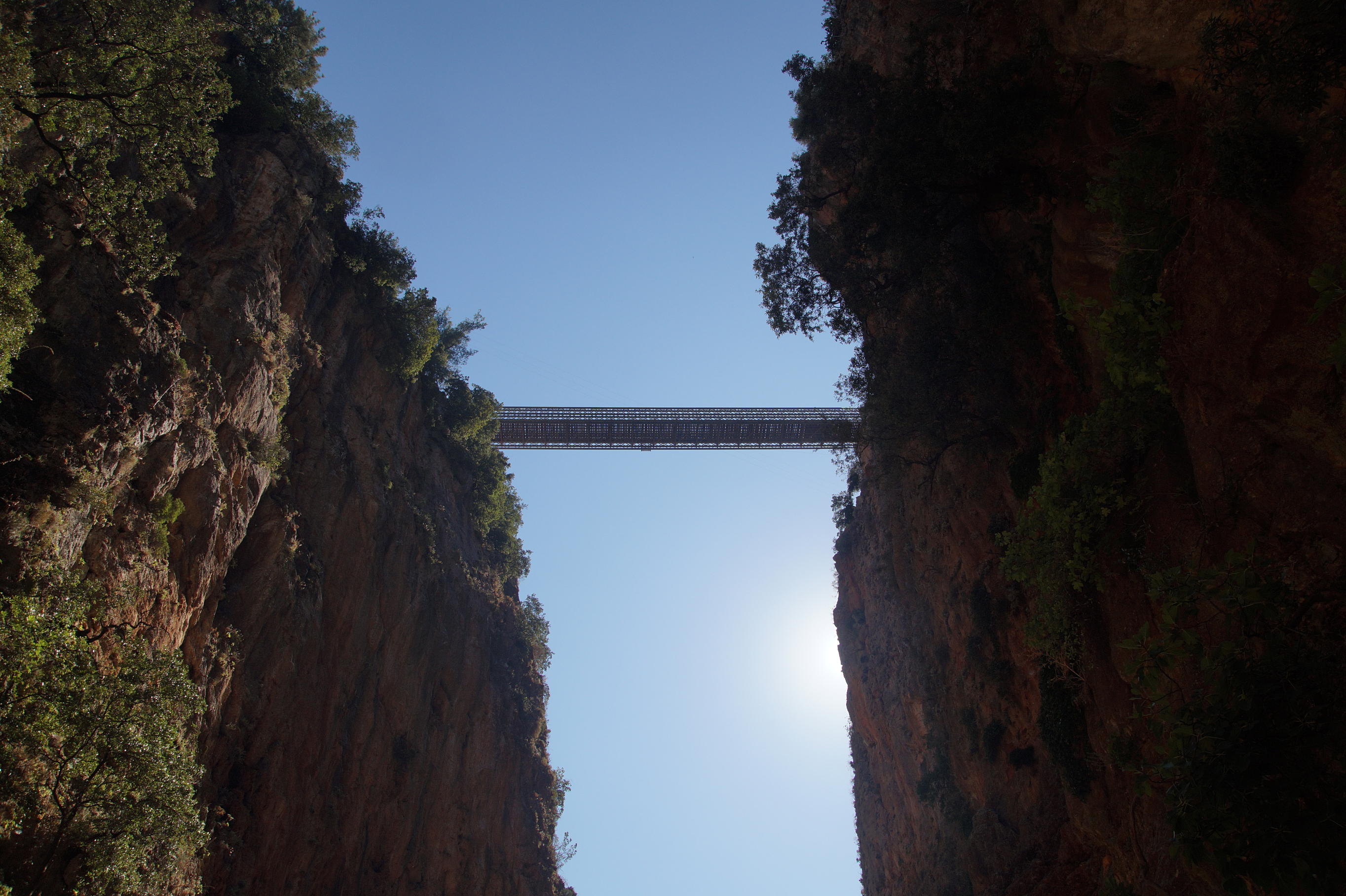 Aradena Gorge Bridge