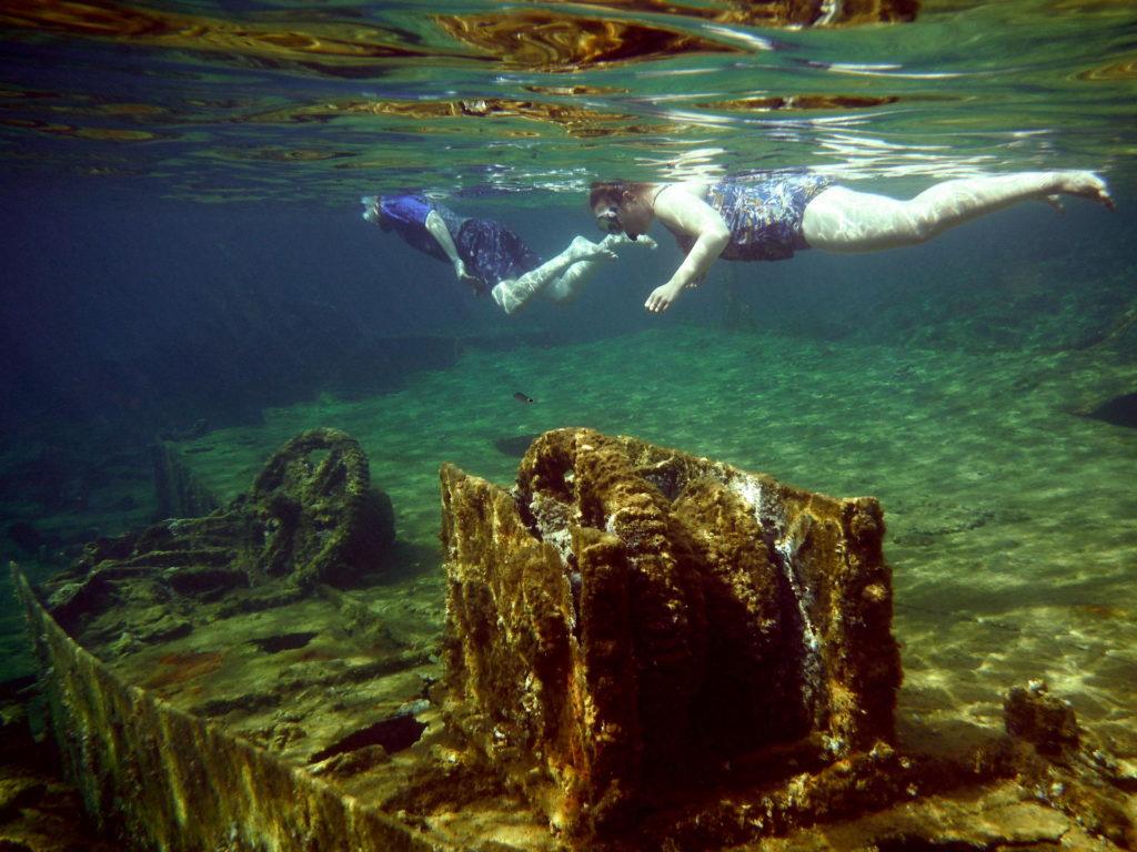 Snorkel Shipwreck Kissamos