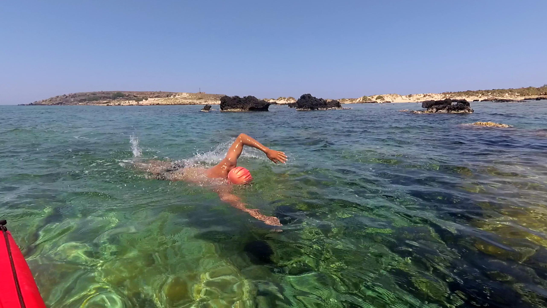 Elafonissi Swim