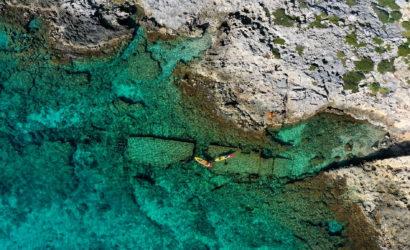 Kayak Falasarna shipwreck
