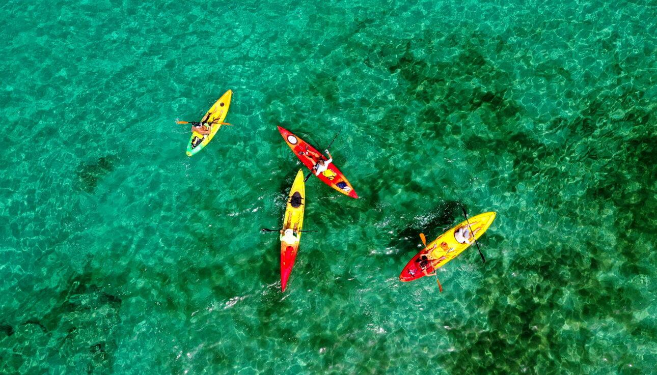 Sea Kayak West Crete