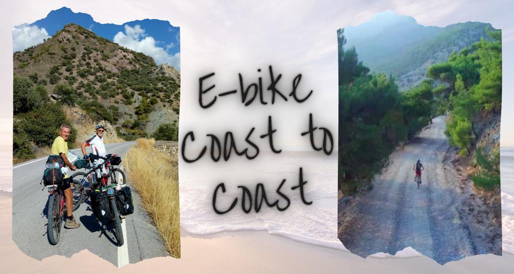 Ebike Crete Coast to Coast