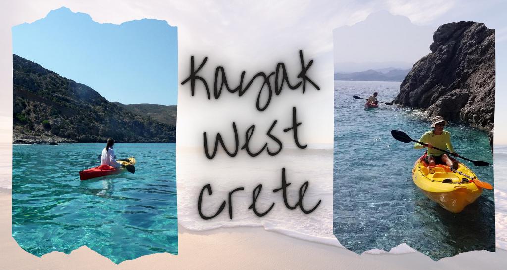 Kayak West Crete